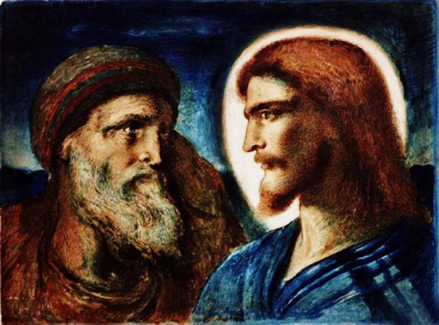 Hristos si Petru