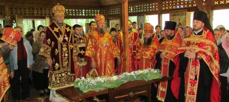 """Întâistătătorul a săvârșit slujba privegherii la Mănăstirea """"Sf. Ioan Botezătorul"""" (Calagur)"""