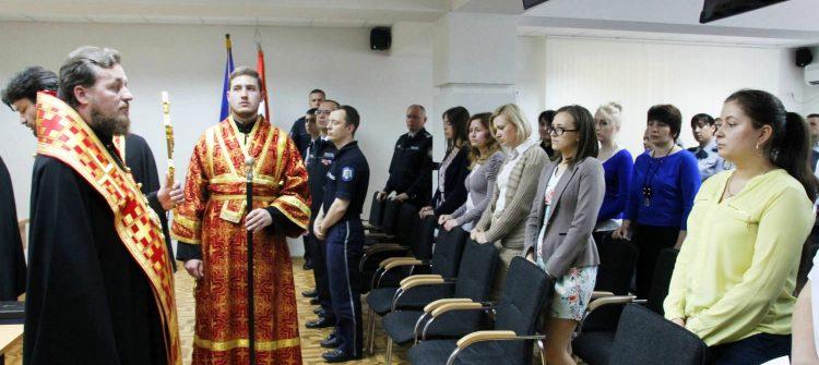 A fost sfințit sediul Inspectoratului General al Poliţiei din mun. Chișinău