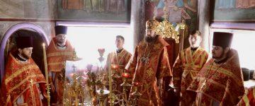 "Sfînta Liturghie la Catedrala Episcopală ,,Sf. Alexandru Nevski"" din Ungheni în Duminica Samarinencii"