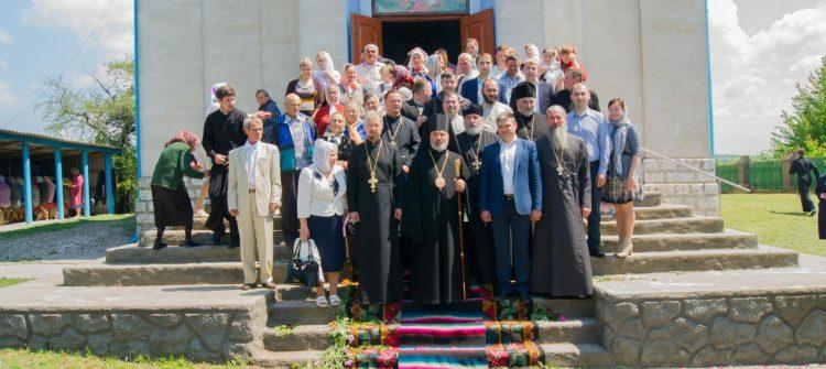 Sfințirea bisericii din s.Balatina