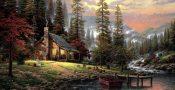 Thomas-Kinkade-A-Peaceful-Retreat