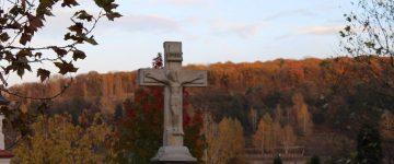"""Mănăstirea """"Nașterea Maicii Domnului"""" , Curchi în culorile toamnei"""