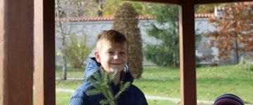 """Tabără """"Dumnezeu, prietenul meu"""" la Mănăstirea Curchi"""